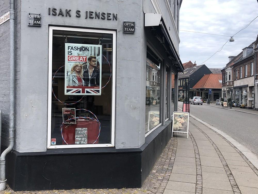 Optiker Isak S. Jensen